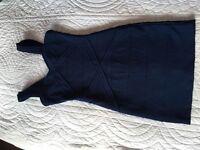 Dark Blue Body Con Dress