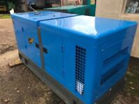 Generator 60 KVA unused year 2017 Auto start