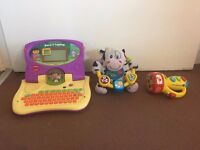 toy bundle, used but working. need batteries