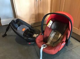 Cybex Cloud Q Plus baby car seat + iso fix base (spare base for sale as extra if required)