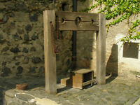Fundraising Volunteer to go in the Stocks or Pillory