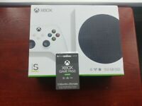 Xbox Series S 512GB with 3 months Ultimate Pass Brand New Sealed