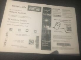1 Melanie martinez ticket 02 arena Glasgow