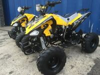 125cc Quad bike new 2016 model. Automatic Reverse Speedo. FREE BODY ARMOUR