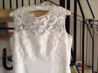 Unwanted Brand New Wedding Dress Size 14 - JOANNA HOPE SEQUIN DETAIL DRESS