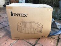 Intex PureSpa 4 person Inflatable Hot Tub - small leak -