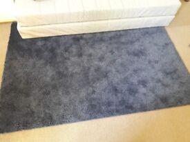 Carpet dark blue 133x195cm