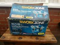 Workzone, 600w electrical tile cutter brand new