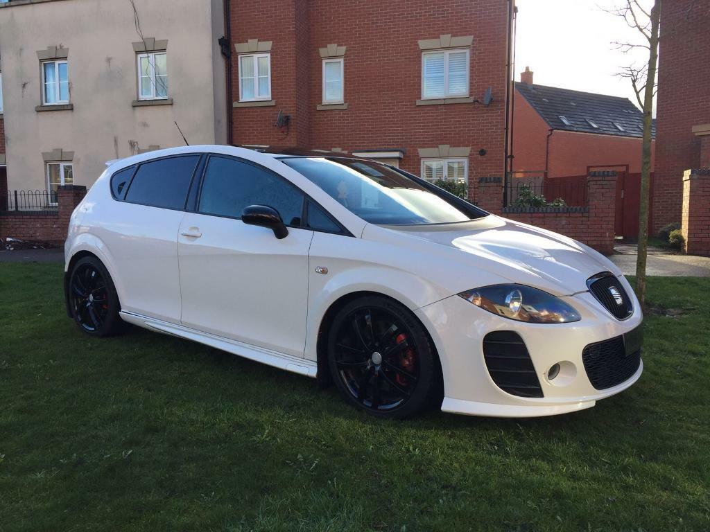 seat leon cupra k1 2 0 tfsi 2008 in white stage 2 plus in sandwell west midlands gumtree. Black Bedroom Furniture Sets. Home Design Ideas