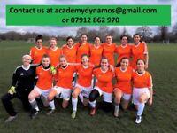 CLAPHAM LADIES FOOTBALL CLUB - PLAYERS WANTED WOMENS SOCCER/TRIALS/FEMALE/TEAM/PLAYER/LONDON/NEAR ME