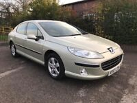 2007 PEUGEOT 407 2.0 HDI DIESEL 6 SPEED EXCELLENT MPG POSS PX