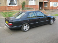 Mercedes E280 , w124, 124 , AMG suspension , 1995, long MOT