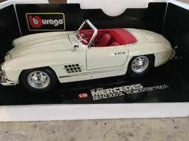 Mercedes Roadster 1/18th scale model