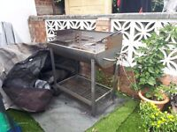Large drum bbq and accessories