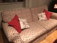 Laura Ashley (large) 2 seater sofa