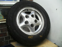 landrover alloy and tyre