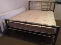 Double bed with mattress-£80 delivered