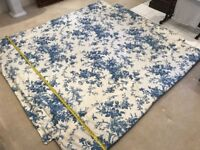 BED SPREAD or/and COMFORTER - SOFA COVER - Reversible and padded
