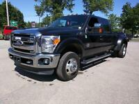 2011 Ford F-350 LARIAT DIESEL DUALLY LEATHER LOADED 4X4 MOONROOF