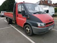 Ford Transit 350 MWB TD - 1 Owner Flat Bed - 105,000 Miles Genuine Miles - Drives Good