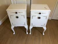 Pair of Vintage Bedside Tables