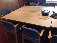 1.6 METER FOLDING TABLES IN EXCELLENT CONDITION 10 IN STOCK