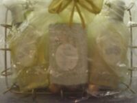 Magnolia moisturising toiletries in a basket gift set (Brand new and factory wrapped)