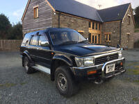 Toyota Hilux Surf 1995 Automatic SSRX 3.0 Limited Edition Black / Chrome 4x4 Truck Diesel