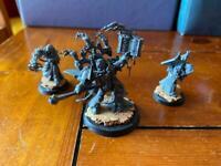 Warhammer Dark apostle with disciples