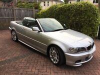 BMW 330ci Msport Convertible Auto - Low Mileage