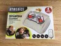 Homemedics Shaitsu Massage Cushion Brand New