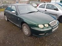 ROVER 75 CONNOISSEUR AUTOMATIC , FULL LEATHERS LOW MILES ( ANY OLD CAR PX WELCOME )