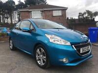 2013 PEUGEOT 208 ACTIVE ** ONLY 17,000 MILES ** FINANCE AVAILABLE WITH NO DEPOSIT