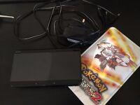 Nintendo New 3DS Black - Alpha Sapphire (Luma) - Sleeve & Charger