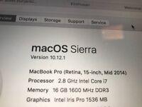 MacBook Pro 15 inch 1tb