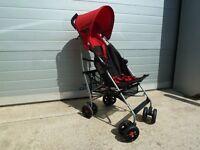 Mamas & Papas red pushchair