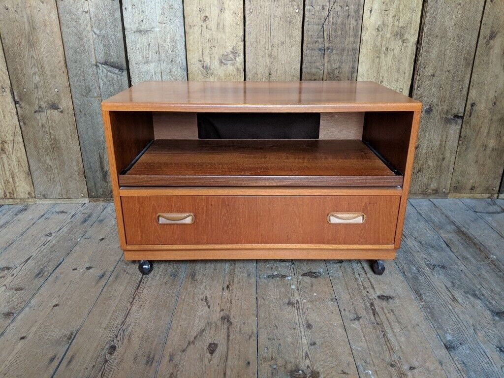 G Plan Fresco Tv Stand Danish Teak Era Mid Century Modern Vintage Gplanera In Brighton East Sussex Gumtree