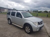 56 NISSAN PATHFINDER 2.5 DCI SPORT 7 SEATER 4x4 1 OWNER NOT VW TOYOTA MITSUBISHI LANDROVER CHEAP