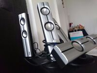 Hercules 5.1 surround system with subwoofer