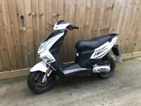 50cc scooter moped 12 months mot 2 stroke engine