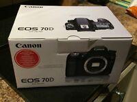 Canon 70D Empty Box