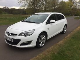 Vauxhall Astra Estate SRi 1.6 for Sale. Great condition with low mileage.