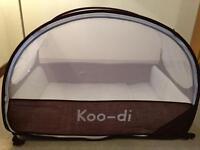 Koo-di travel cot & mattress