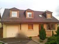 Lovely Double Room in a Detached House, Auchleven near Insch