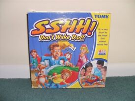 Sshh! Don't wake dad (board game)