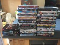 Bundle of 48 DVD's