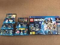 Lego dimensions PS4 game plus extras