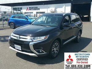 2016 Mitsubishi Outlander ES; Local, Low KM