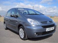 2005 CITROEN PICASSO 1.8 LX ONLY 52,000 MILES