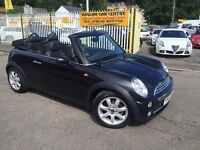MINI CONVERTIBLE 1.6 Cooper 2dr (black) 2007